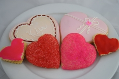 Valentines Day Themed Cookies