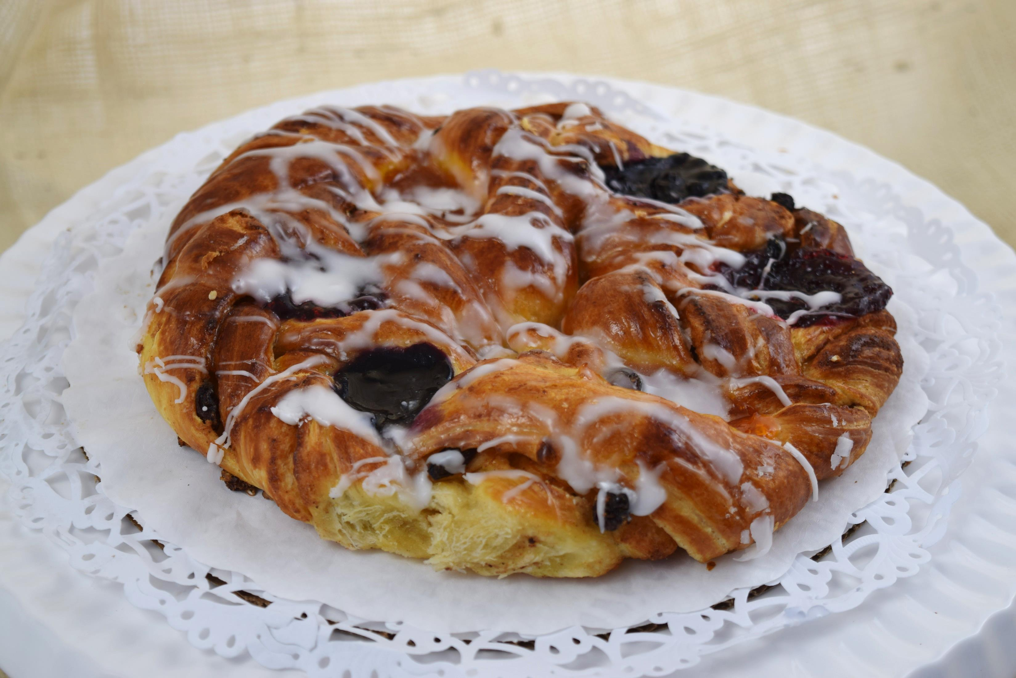 Fruit Danish Ring