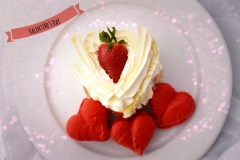 Valentines Strawberry Short Cake