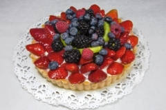 Large Fruit Tart