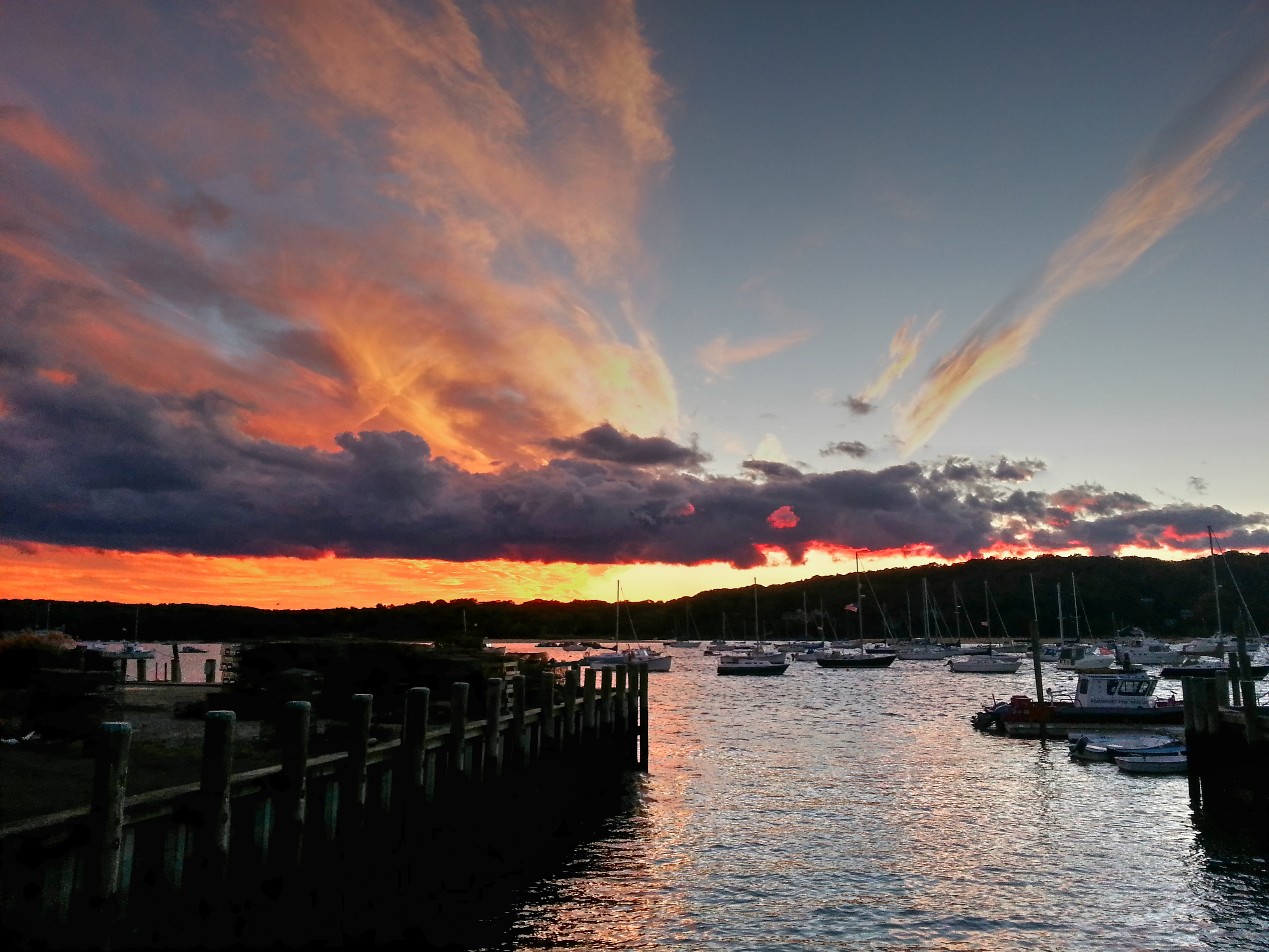 Northport Harbor Sunset Fall 2012_tonemapped (1)